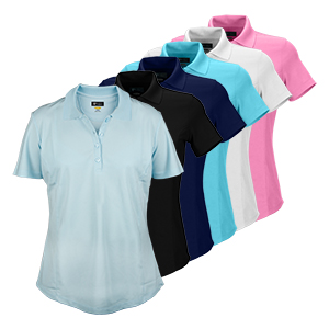 Greg Norman Ladies S/S Polyester Polo Shirt (K447)