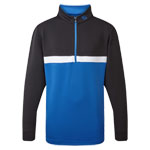 9988 FootJoy Junior Quarter Zip Colour Blocked Chillout