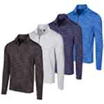 KX066M Greg Norman Long Sleeve Heathered Mesh